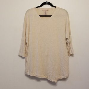 Philosophy wheat field heather asymmetric top